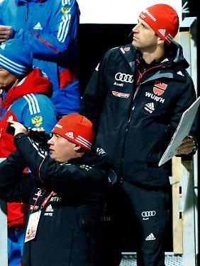 Bundestrainer Werner Schuster beflügelt die DSV-Adler nachhaltig.