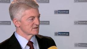 """Heinrich Hiesinger im n-tv Interview: """"Optionen falsch eingeschätzt"""""""