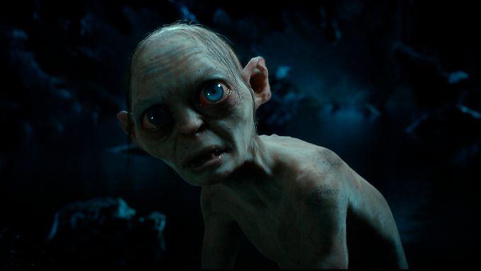 Weniger Falten, verblüffende Sehkraft: Gollum.