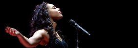 Nur einer von vielen Stars des Benefizkonzerts: Alicia Keys.