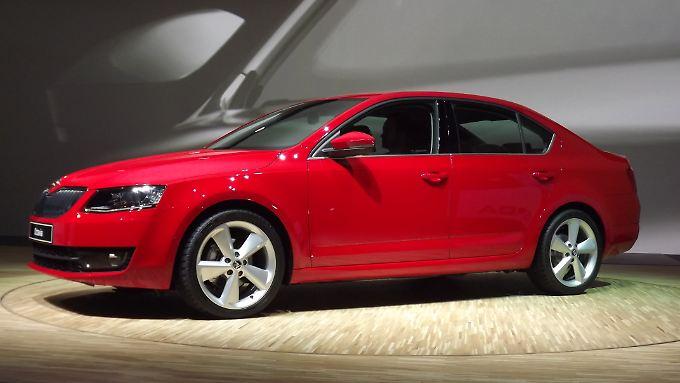 Mitte Februar 2013 soll der neue Octavia bei den Händlern stehen.