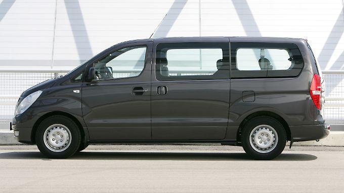 Der Hyundai H-1 kommt immerhin auf drei von fünf Sternen.