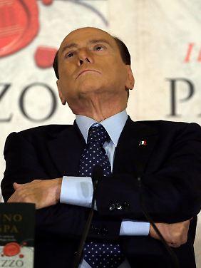 Silvio Berlusconi sorgt weiter für Unruhe.