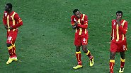 Afrika verliert Elfmeterkrimi: Uruguay feiert Ghanas Tränen