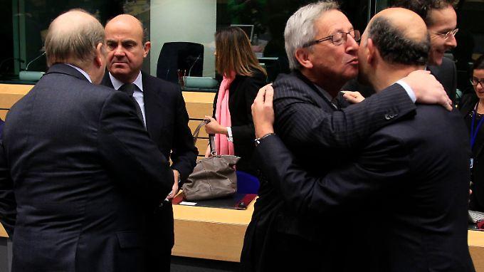 In Brüssel dominierte nach der Einigung Erleichterung.