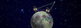 Mit Vollgas auf den Mond: Nasa lässt Sonden abstürzen