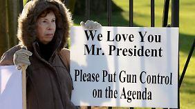Die USA diskutieren wieder über das Waffenrecht.