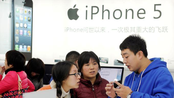 Das iPhone 5 erreicht das Reich der Mitte.