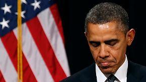 Newtown nach Amoklauf unter Schock: Obama will Waffengewalt stoppen