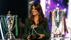 Überraschender Auftritt bei Preisverleihung: Kate zeigt sich der Öffentlichkeit