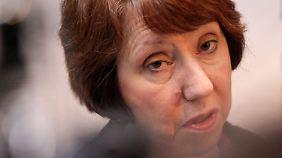 Eine Äußerung der EU-Außenbeauftragten Catherine Ashton sorgt für Ärger.