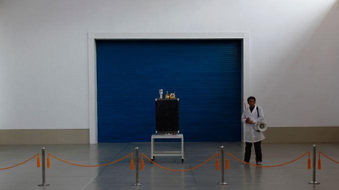 Der Kwangmyongsong-3-Satellit des nordkoreanischen Raumfahrtprogramms scheint nicht zu funktionieren.