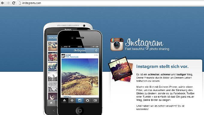 Instagram: Schnell, bequem - und profitabel?