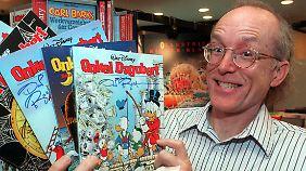 Neben Dogoberts Schöpfer Carl Barks hat sich vor allem der Zeichner Don Rosa um die Figur verdient gemacht.