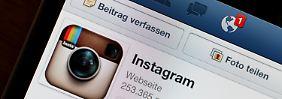 Verkauf von privaten Fotos: Instagram rudert nach Protest zurück