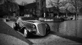 Die LED-Leuchten sind dem automobilen Zeitgeist von heute angepasst.