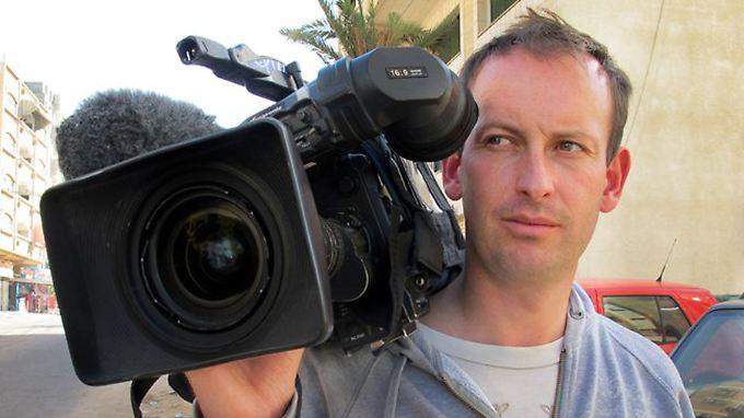 Der französische Reporter Gilles Jacquier starb im Januar, als er über den Bürgerkrieg im syrischen Homs berichtete.