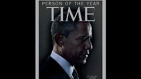 """Nach 2008 schon zum zweiten Mal """"Person des Jahres"""": Barack Obama."""