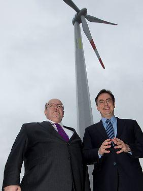 Altmaier und McAllister sind mächtig stolz auf ihren TimberTower.