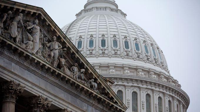 Das Kapitol in washington: Machtspiele im US-Haushaltsstreit