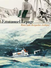 """""""Reise zum Kerguelen-Archipel"""" ist bei Splitter erschienen, die gebundene Ausgabe im Großformat hat 160 Seiten und kostet 29,80 Euro (D)."""