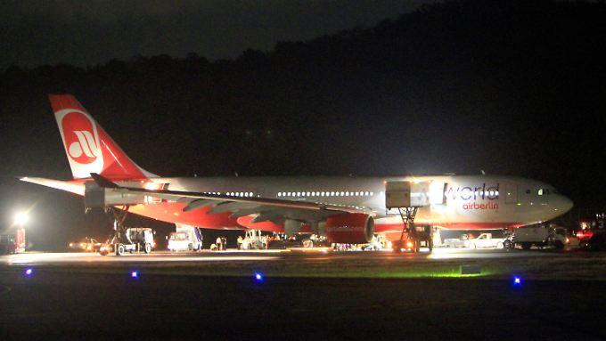 Schreck auf Air-Berlin-Flug: Airbus zur Notlandung gezwungen