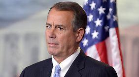 Etat-Streit in den USA: Republikaner schalten auf stur