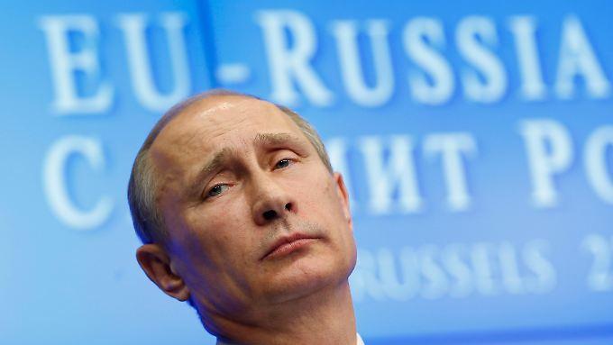 Putin wird sich von nicht beeindrucken lassen von der Kritik von Menschenrechtlern.