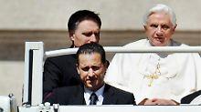 Ex-Kammerdiener kommt frei: Papst begnadigt Kurien-Spitzel