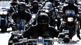 Motorrad-Rocker werden immer intensiver von der Polizei kontrolliert.
