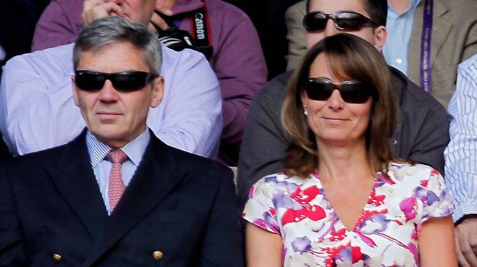 Kates Eltern Michael und Carole Middleton
