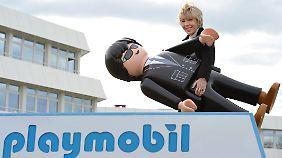 Geschäftsführerin Schauer glaubt, dass Playmobil auch in einer digitalen Welt bestehen kann.
