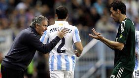 Auf Krawall gebürstet: Real-Coach Jose Mourinho.