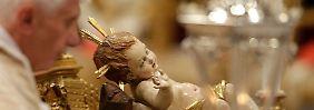Vatikan feiert Weihnachten: Papst moniert Egoismus