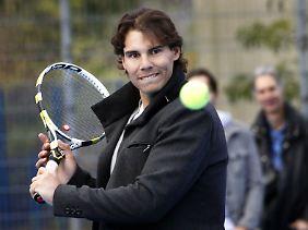 Rafael Nadal, vorsichtig.