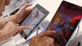 Das steigende Interesse an Smartphones und Tablets mischt die Karten in der PC-Branche neu.