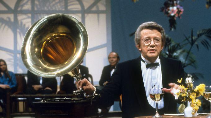 """Dieter Thomas Heck im November 1984 in """"Melodien für Millionen""""."""