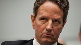 Timothy Geithner macht Druck.