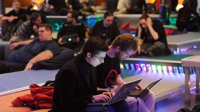 Viele Jahre in Berlin, jetzt in Hamburg: Das jährliche Treffen des Chaos Computer Clubs.