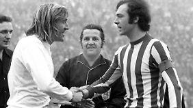 Das große Duell der 70er: Bayern gegen Gladbach, Beckenbauer gegen Netzer.