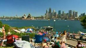 Australier sind am Anfang dran: Alle warten auf 2013