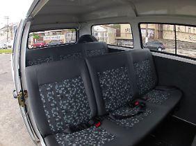 Viel Komfort bietet der VW Kombi nicht.