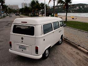 1957 war der Bulli das erste Fahrzeug, das bei Volkswagen do Brasil vom Band lief.