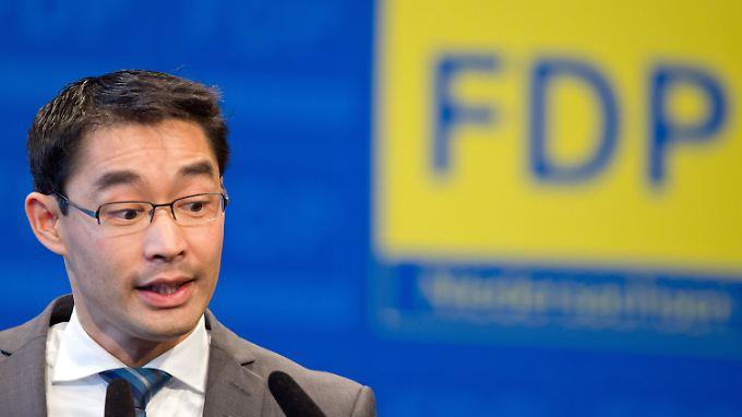 Rösler ist in bedrängnis - aber er will FDP-Chef bleiben.