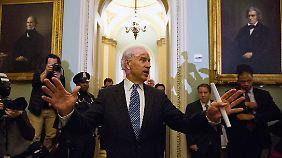 Vizepräsident Joe Biden leitete zuletzt die Verhandlungen.