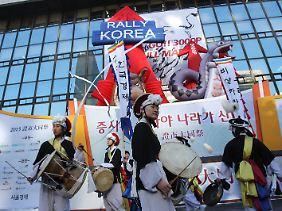 """""""Rally Korea"""": Die Zuversicht ist groß - auch aus nachbarschaftlichen Gründen."""