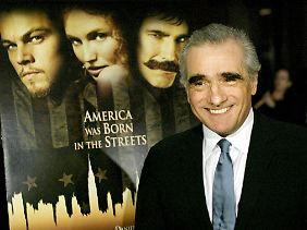 """Martin Scorsese bei einer Vorführung von """"Gangs of New York"""" im Dezember 2002."""