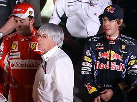 Bernie Ecclestone hat nichts gegen das Red-Bull-Team, aber etwas gegen einen Dauerchampion Red Bull.