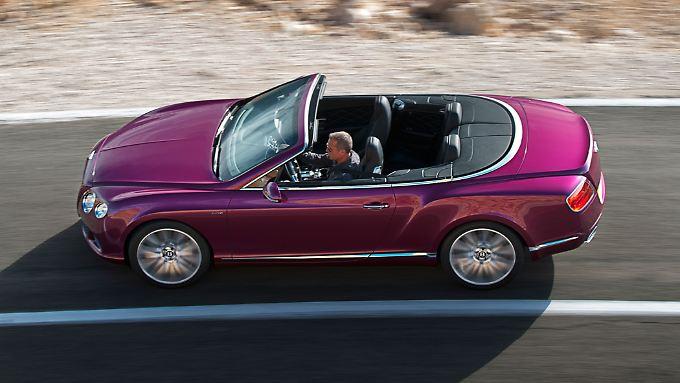Der Continental GT Speed Convertible bringt es auf 625 PS.