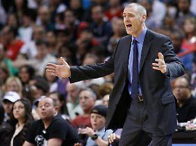 Unzufrieden: Dallas-Coach Rick Carlisle beklagte leichtsinnige Fehler seines Teams.